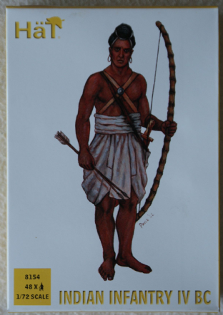 HaT 1/72 HAT8154 Indian Infantry IVth BC (Ancients)